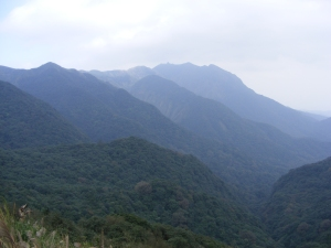 Mountains photographed 12/06/2012 at Yangmingshan National Park, Taiwan.
