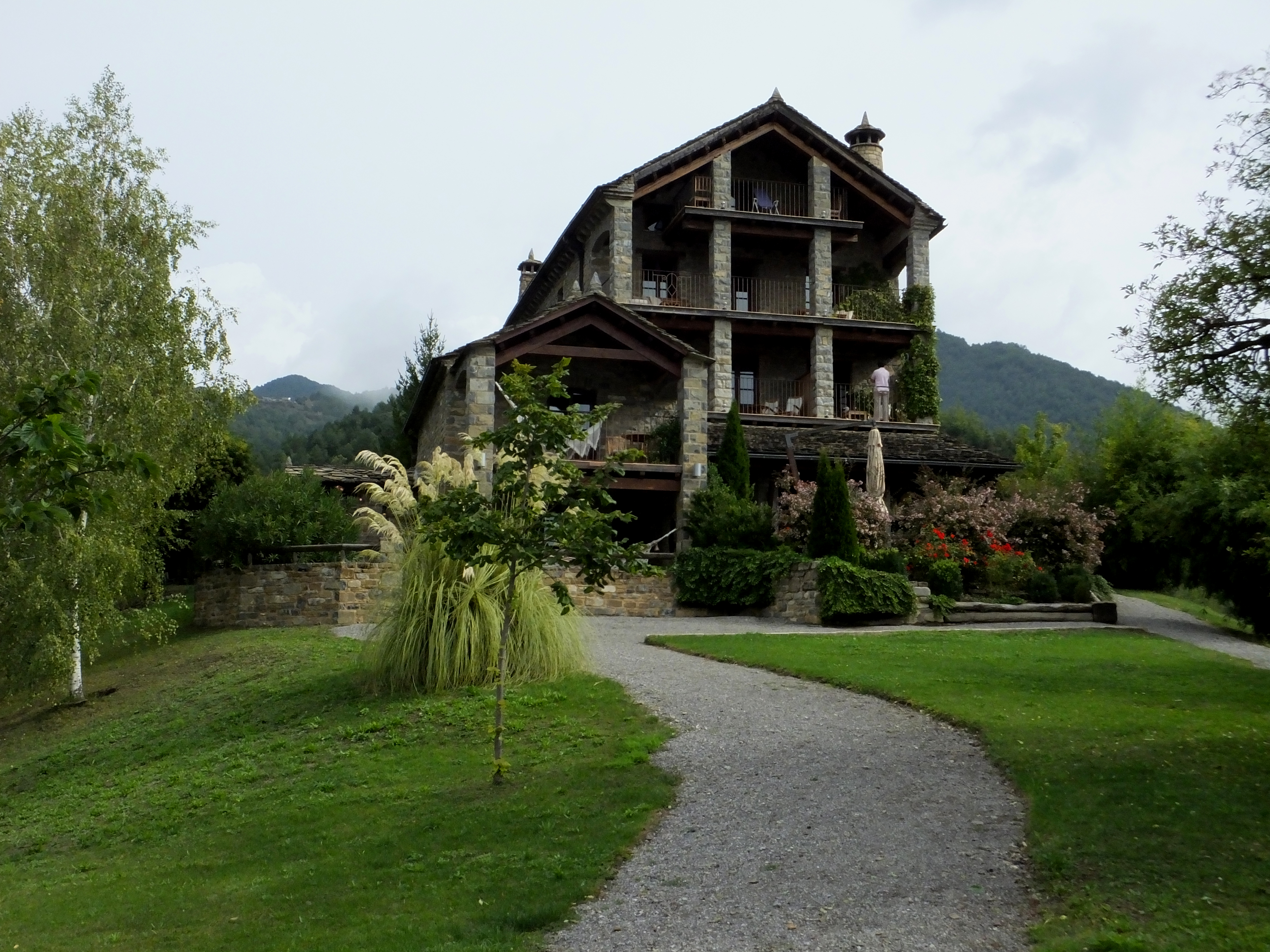 Three days in the pyrenees of spain part 2 the life of your time - Casa de san martin ...